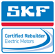 Hupp-Electric-Motors-Marion-Iowa-SKF-logo