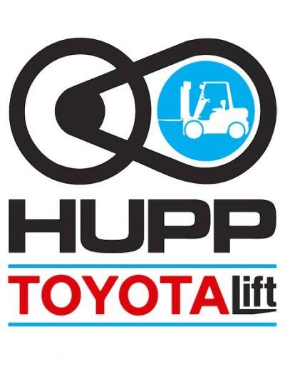 Hupp Electric Sister Company Toyota Lift Logo