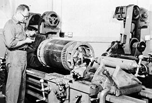 Hupp Timeline Machine Shop