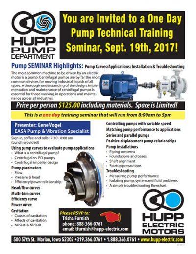 hupp-electric-motors-pump-seminar